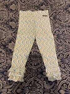Matilda Jane Serendipity Dizzy Leggings Size 4 VGUC