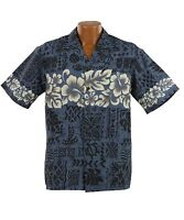 Hibiscus Band Hawaiian Aloha Shirt