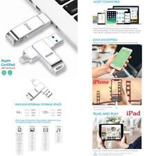 Idiskk Mfi Certified 64Gb Lightning Usb Memory Stick Flash Drive For Iphone 11 A
