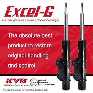 2 x Front KYB EXCEL-G Strut Shock Absorbers for VOLKSWAGEN Crafter 2E 35 2.5 RWD