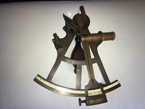 Brass G. Mager Brake Original Antique German Kriegs Marine Sextant Circa 1900