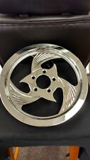 """Fit Harley Chrome HURRICANE STYLE Belt Pulley Sprocket 65 Tooth x 1.5"""""""