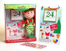 The Good Elf Christmas Countdown Santa Helper Xmas Sticker Reward Chart Gift Set