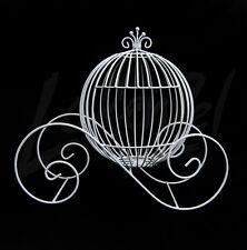 """Large 19"""" Cinderella Pumpkin Carriage Wedding Wire Centerpiece Coach"""