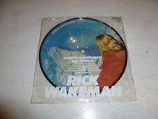 "RICK WAKEMAN - Animal Showdown - 1979 UK limited edition 7"" vinyl PICTURE DISC"