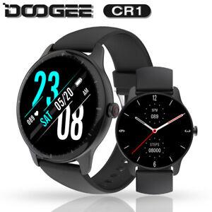DOOGEE CR1 Smart Watch Fitness Tracker Pedometer Heart Rate Sleep Monitor 300mAh