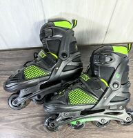 Mongoose Roller blades in-line skates Fully Adjustable youth size 5-8.