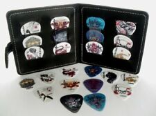 GUITAR PICK POUCH COMPLETE WITH 12 ROCK PLECTRUMS - VERY SPECIAL OFFER