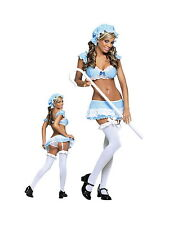 Plus Size Lingerie Sexy Little Bo Peepshow Costume Stripper Fantasy Outfit Queen