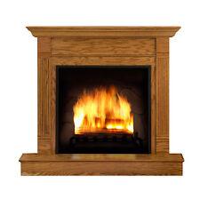 ROARING FIREPLACE Cozy Hearth Blazing Fire CARDBOARD CUTOUT Standee Standup Prop