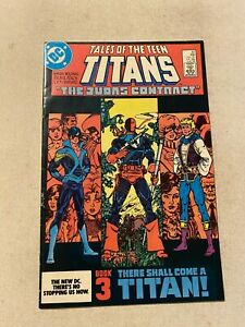 TALES OF THE NEW TEEN TITANS #44 VF+ 8.5 1ST APPEARANCE OF  NIGHTWING