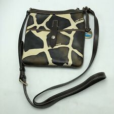 Dooney & Bourke Womens Trixie Crossbody Bag Brown Animal Pattern