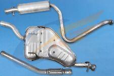 Komplette Auspuffanlage ab KAT SAAB 9-3 I 900 II 2.0 Turbo 16V 1994-2003