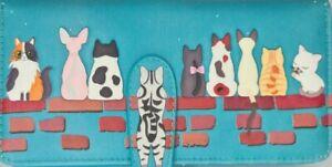 NEW SHAGWEAR FAMILY LOVE CATS LADIES WALLET