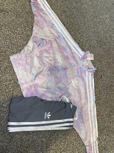 Full Adidas Girls Tracksuit Size 3-4