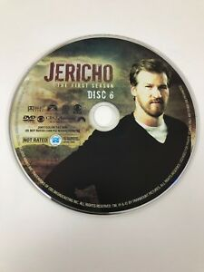 Jericho - Season 1 - Disc 6 - DVD Disc Only - Replacement Disc