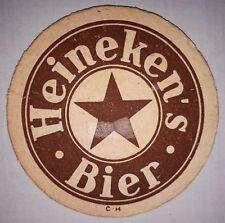 ANCIEN SOUS BOCK - HEINEKEN'S BIER - C-H - EPAIS - 2 FACES MARRON/BLEU
