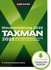 Lexware TAXMAN 2021 (para el año fiscal 2020) Versión completa GreenIT WIN 10  8.1