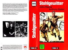 VHS -- STAHLGEWITTER ( Back to Bataan ) -- (1945) - John Wayne - Anthony Quinn