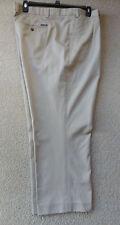 Men's Eddie Bauer Pants Wrinkle Free Classic Fit Khaki Sz 48 New