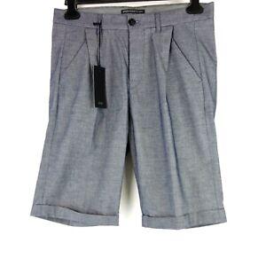Drykorn Herren Kurze Hose Shorts Stoffhose Chino Modell Fired Blau Np 120 Neu