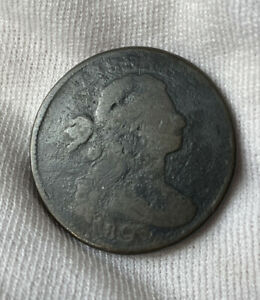 1805 Draped Bust Large Cent Circulated Condition Key Date Decent Detail