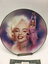 """Bradford Exchange """"All that Glitters"""" Reflections of Marilyn Collector 1st Plate"""