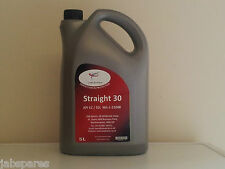 SAE 30 Grade Engine Oil Low Detergent Suits Older Classic Engines 5Ltr