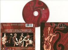 "MAROON 5 CD ""SONGS ABOUT JANE"" 2004 EU OCTONE HARDER TO BREATHE THIS LOVE VIDEOS"