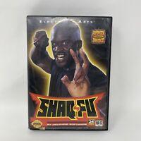 Shaq-Fu (Sega Genesis, 1994)- No Manual Tested Working Authentic