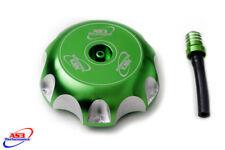 KAWASAKI KX 85 100 14-18 KXF 250 450 06-16 ALUMINIUM PETROL FUEL GAS CAP GREEN