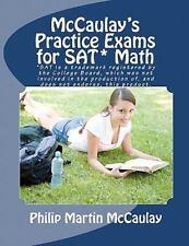 McCaulay's Practice Exams for SAT* Math