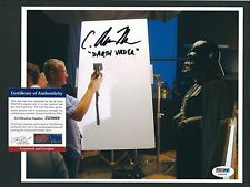 """C. Andrew Nelson signed 8""""x10"""" photograph PSA authenticated Darth Vader"""