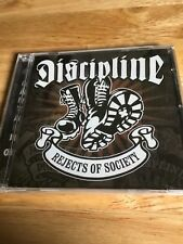 Discipline - Rejects of Society (2003) NEW SEALED CAPTAIN OI! CD  PUNK CD