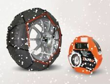 """Pair of 9mm Car Tyre Snow Chains for 16"""" Wheels TXR9 Hatchback,215/65-16 Kit110"""
