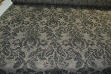 brown beige charcoal upholstery fabric floral traditional robust caravan sofa