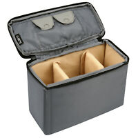 Shockproof DSLR Camera Lens Padded Insert Bag Organizer Case Partition Dividers