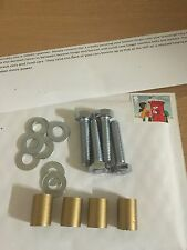 22mm Gold Bonnet Raisers/Spacers Peugeot 106 Quicksilver GTI 306