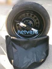 kit roue de secours (galette )17° seat leon  avec cric, clé et housse