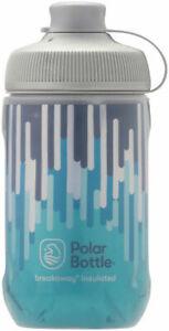 Polar Breakaway Muck Insulated Zipper Water Bottle Slate Blue/Turquoise 12oz