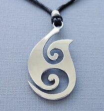 Hemp surfer chains necklaces pendants for men ebay men surfer choker necklace black hemp cord metal pendant flame adjustable b19 aloadofball Images
