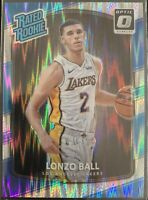 2017-18 Donruss Optic Rated Rookie Shock Flash Lonzo Ball RC Rookie #199