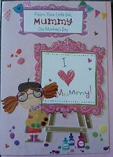 FROM YOUR LITTLE GIRL ON MOTHER'S DAY  - MOTHERS DAY CARD