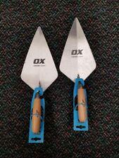 "Ox Tools Trade Series 11"" London Brick Trowel - 2 Pack"