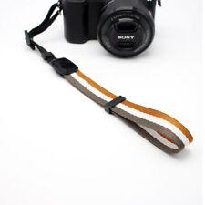 Cámara Mano Agarre Correa De Muñeca Holder Cinturón Amarillo Para DSLR Instax Canon Nikon Sony