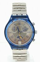 Orologio Swatch chrono moon date watch swatch scn402 clock vintage with box