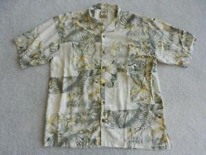 Tommy Bahama Silk Shirt, Large