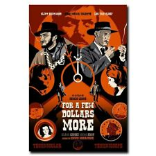 For a Few Dollars More 24x16inch Clint Eastwood Movie Silk Poster Art Print