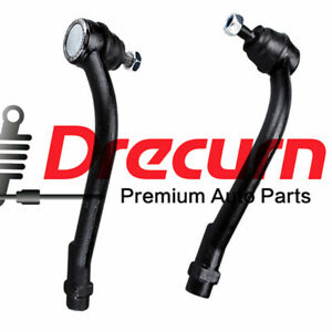 2Pcs Front Outer Tie Rod End For Hyundai Santa Fe Veracruz Kia Sorento
