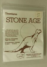 Stone Age TIventures by American Software ASD&D TI 99/4 99/4A 1982 tape version